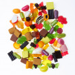 Assortment of colorful candy — Stock Photo #7520502