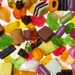 Assortment of colorful candy — Stock Photo #7520519