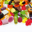 Assortment of colorful candy — Stock Photo #7520548