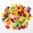 Assortment of colorful candy — Stock Photo #7520951