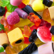 Assortment of colorful candy — Stock Photo #7520971