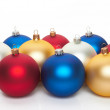 Christmas ball on white — Stock Photo