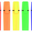 A set of color highlighters — Stock Photo