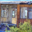 Abandoned Rail Car — Stock Photo