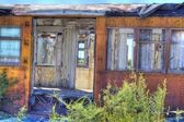 Abandoned Rail Car — Stock Photo