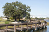 Riverfront Park — Stock Photo
