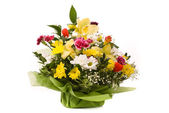 Magnificent bouquet on a white — Stock Photo