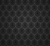 Seamless damask wallpaper — Vector de stock