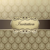 Vector template invitations — Vector de stock