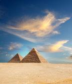 Egitto piramide — Foto Stock