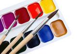 Brush and paint — Stock Photo