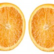 Half orange — Stock Photo #7949075