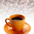Empty cup with saucer — Stock Photo #7949095