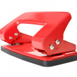 Red office paper hole puncher — Stock Photo