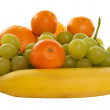 Stock Photo: Pile of fruits