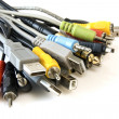 Bunch of  cables — Foto Stock
