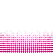 Pink hearts — Stock Vector