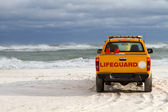 Beach Lifeguard Vehicle — Stock Photo
