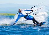 Kitesurfer — Stock Photo