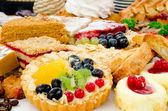 Lots of pastry — Stock Photo