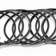 Stock Photo: Auto piston rings