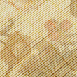 Straw placemat texture - Foto Stock