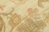 Straw placemat texture — Stock Photo