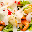 Shrimp Caesar salad — Stock Photo #7748420