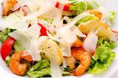Shrimp Caesar salad — ストック写真
