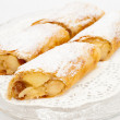 Stock Photo: Flaky Swiss roll