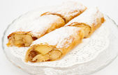 Flaky Swiss roll — Stock Photo