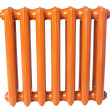 Cast iron radiator - Stockfoto
