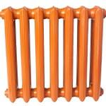 Cast iron radiator — Stock Photo