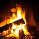 Fire burning — Stock Photo