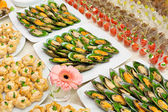 Buffet table — Stock Photo