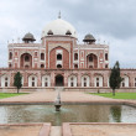 Humayun's tomb, Delhi, India — Stock Photo #6828016