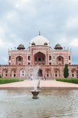 Humayun's tomb fountain, Delhi, India — Stok fotoğraf
