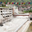 Temple with thermal spring, Manikaran, India — Stock Photo #7115824