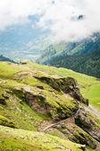 Green mountains — Stock Photo