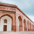 Arches of Humayun&#039;s tomb, Delhi, India - Stock Photo