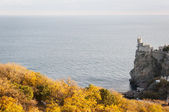 Swallow's Nest, crimea, Ukraine — Stock Photo