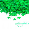 Celebration stars on white background - Stock fotografie