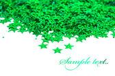 白い背景の上のお祝いの星 — ストック写真