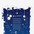 Grunge xmas Background - Imagen vectorial