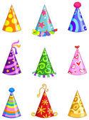 派对帽 — 图库矢量图片