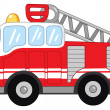 Royalty-Free Stock Vector Image: Fire truck
