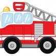 Fire truck — Stock Vector #6985706