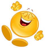 Emoticon alegre — Vetorial Stock