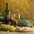 White wine still life — Stock Photo #6984406