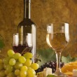 White wine still life — Stock Photo #6987314
